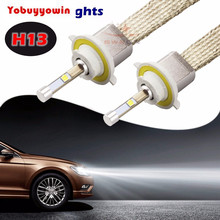 Buy 2Pcs 80W H13 9600LM Cree Chips Led Bulbs Car Headlight Conversion Kit Xenon White 6000K Lamp H1 H3 H4 H7 H11 9004 9005 9006 9012 for $72.00 in AliExpress store