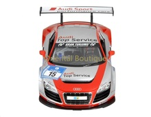 1:14 Audi R8 LMS Performance Model Car RC Remote Control with LED Lights Red