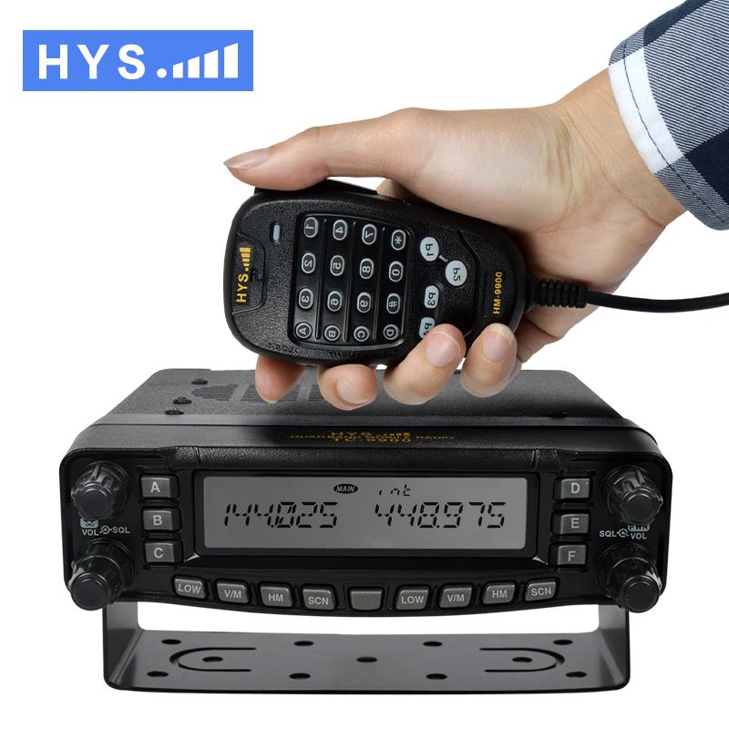 HYS 29/50/144/430 Mobile HF VHF UHF Ham Car Radio With 800 CH Quad Band FM Transceiver TC-9900(China (Mainland))