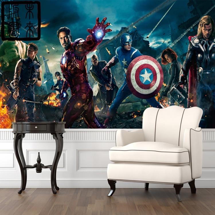 Avengers Papier PeintAchetez des lots à Petit Prix