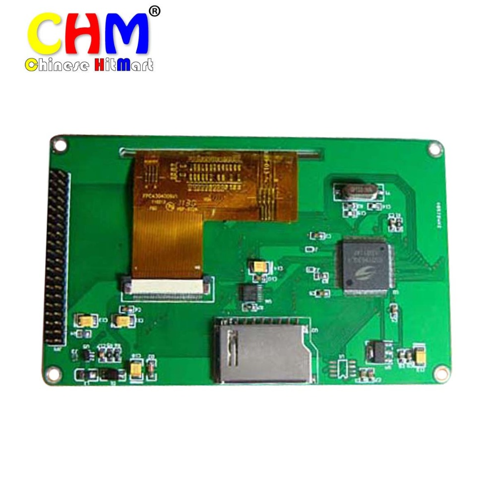5 inch hdmi TFT Touch LCD Module 800*480 16M toch screen for raspberry pi luxury colors 1pcs/lot Free shipping #J153(China (Mainland))