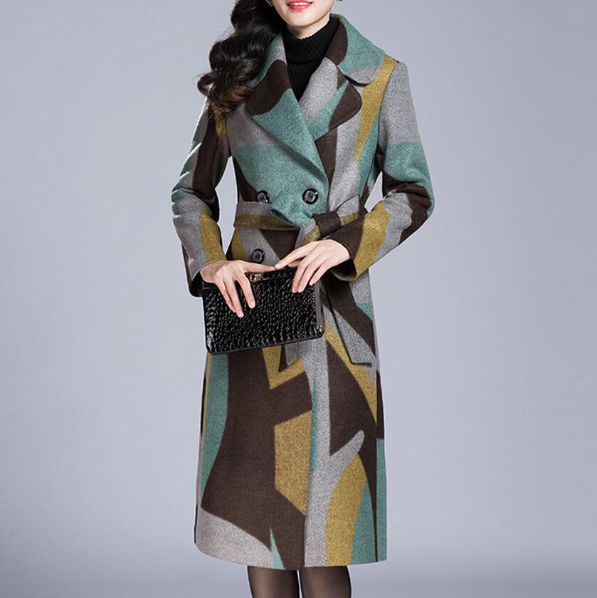 2015 Winter Women Long Woolen Coats Double Breasted Wool Coat Elegant Winter Jacket Women  Womens Winter Jackets And CoatsОдежда и ак�е��уары<br><br><br>Aliexpress