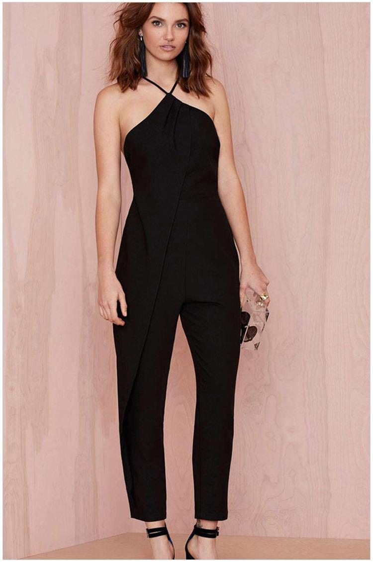 free shipping 2015 new women fashion halter neck cutout