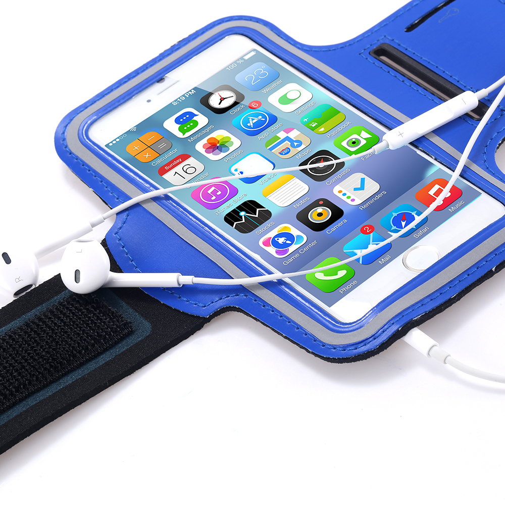 Don't Miss Fashion Waterproof Running Sport Leather Case For Apple Iphone 6 4.7Inch 6 GYM Armband Cover Holder For Iphone6