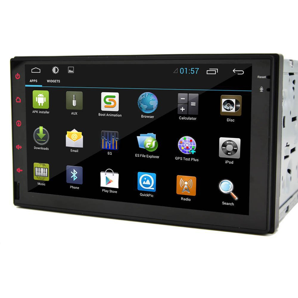 Pure Android 4.2 7'' Tablet Double 2 Din Car PC Stereo In-Dash Radio Car None-DVD MP3 Video Player iPod Bluetooth(China (Mainland))