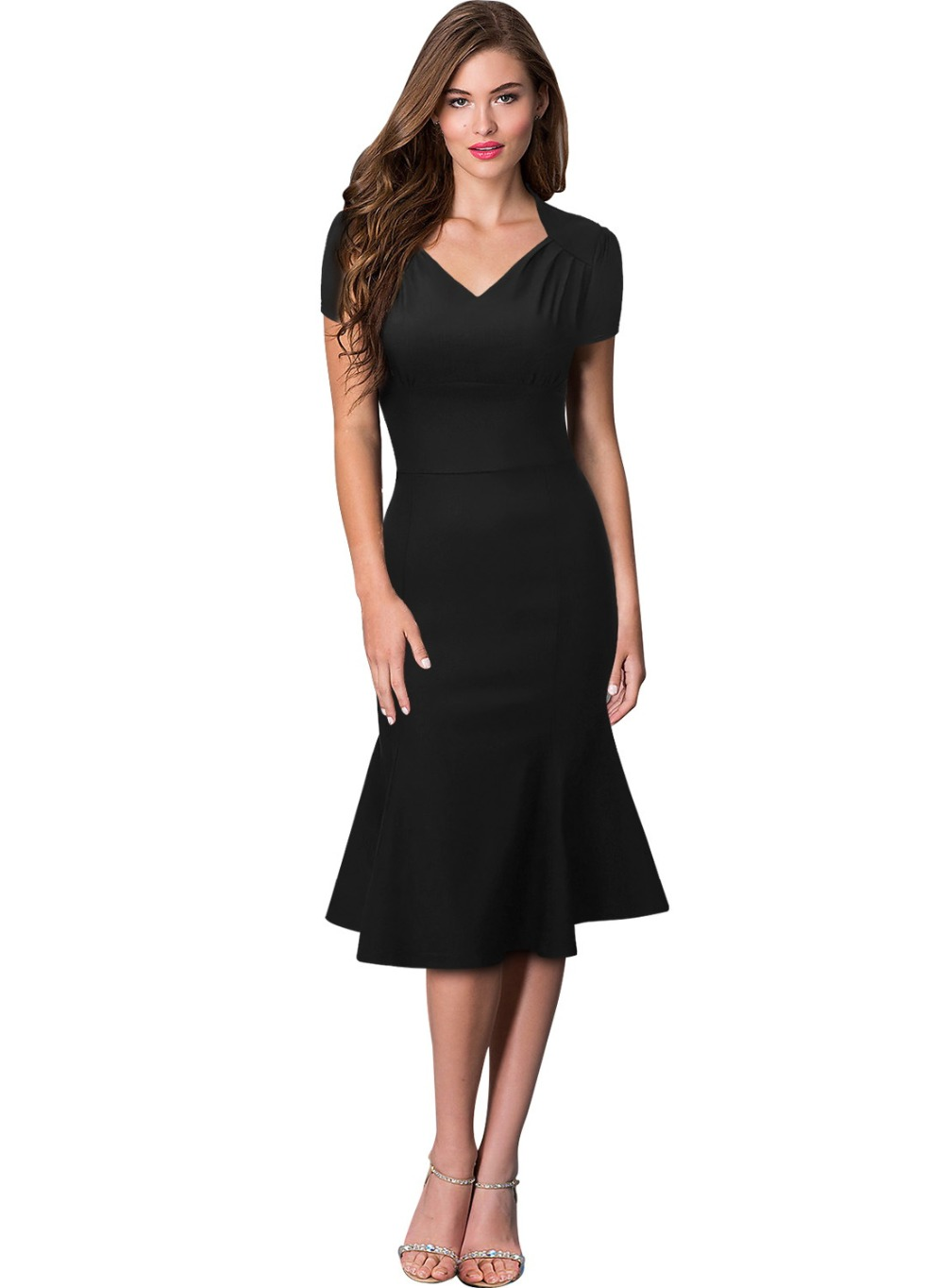 Simple Womens Wedding Guest Dresses