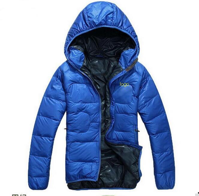 Free shipping 2016 new winter men sportswear 90% white duck down jackets Slim hooded down coat warm outerwear overcoat M-XXL