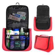 Multifunction Retro Vintage Portable Travel Hiking Hanging cosmetic toiletry wash Hiking bag Accessories For man Women
