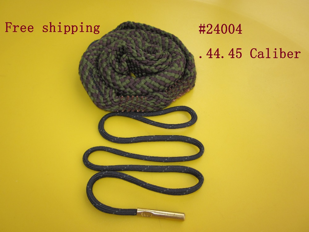 Free Shipping Cleaning 44 45 Caliber Pistol Snake Sling Cleaner 24004 Hunting Shooting Tactical Accessories