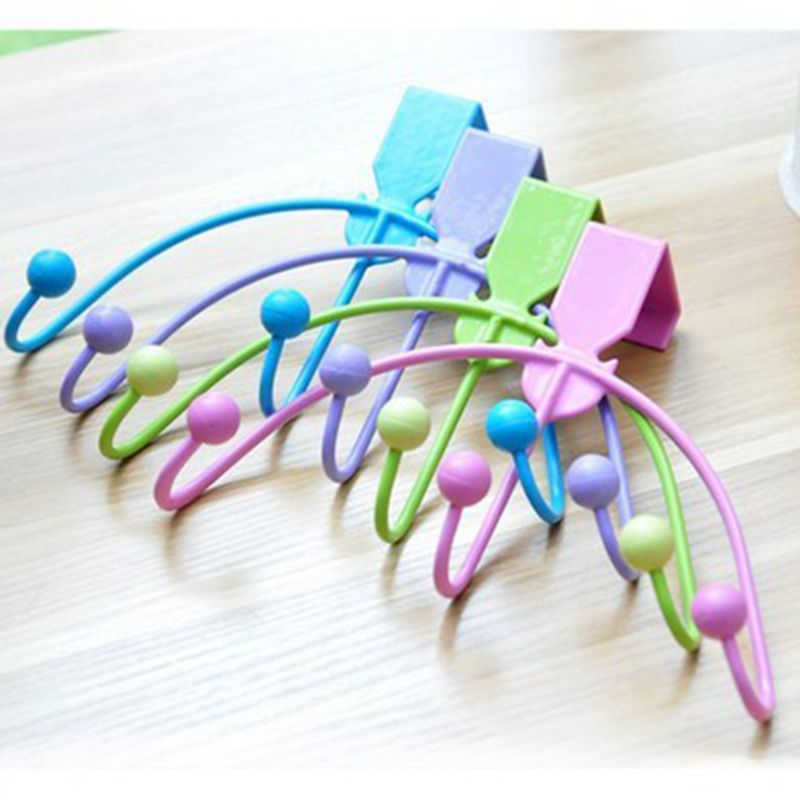 No trace of nailless / three creative arc-shaped hook door hook<br><br>Aliexpress