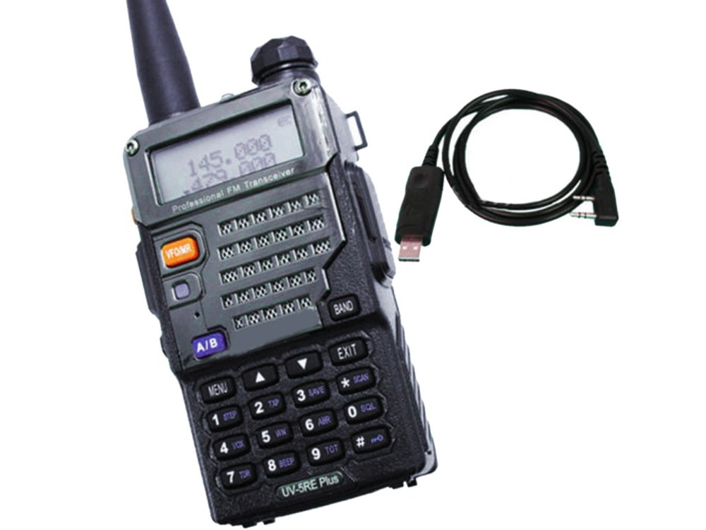Walkie Talkie 5RE + 136/174 /400/520 FM 65/108 5R + USB UV-5RE walkie talkie 5re 136 174 400 520 fm 65 108 5r usb uv 5re