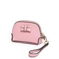 Japan Style Bowknow Change Purse Women Fashion Grain Leather MINI Shell Clutch Bag Ladies Designer Key