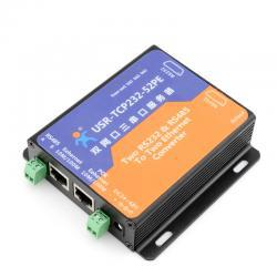 [USR-TCP232-52PE] Serial RS232 RS485 to TCP/IP Ethernet Converter <br><br>Aliexpress