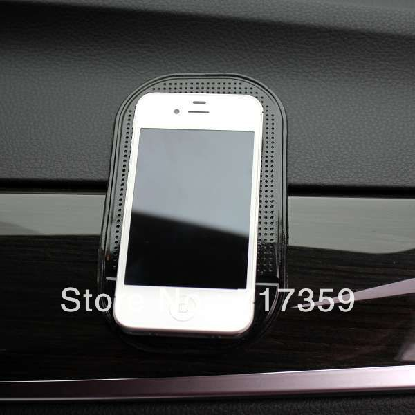 3pcs Brand New Black Anti Slip Mat Non Slip Car sticker for sticky Pad mp3 mp4 Phone Powerful Silica Gel All models Car  670035