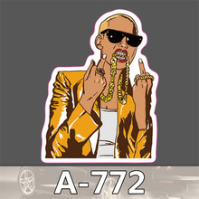 A-772 Car styling Home decor jdm car sticker  auto laptop sticker decal motorcycle fridge skateboard doodle stickers car-styling(China (Mainland))