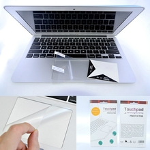 Buy Laptop Accessories Keyboard Touchpad Transparent Film Protective Sticker Apple Mac Macbook Air 11 12 Pro Retina 13 15 skins for $2.95 in AliExpress store