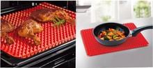 2015 venda quente 1 pcs Red Pyramid panela antiaderente Silicone Baking Mat Mat assadeira do forno de cozinha molde cozinha ferramentas grátis frete(China (Mainland))