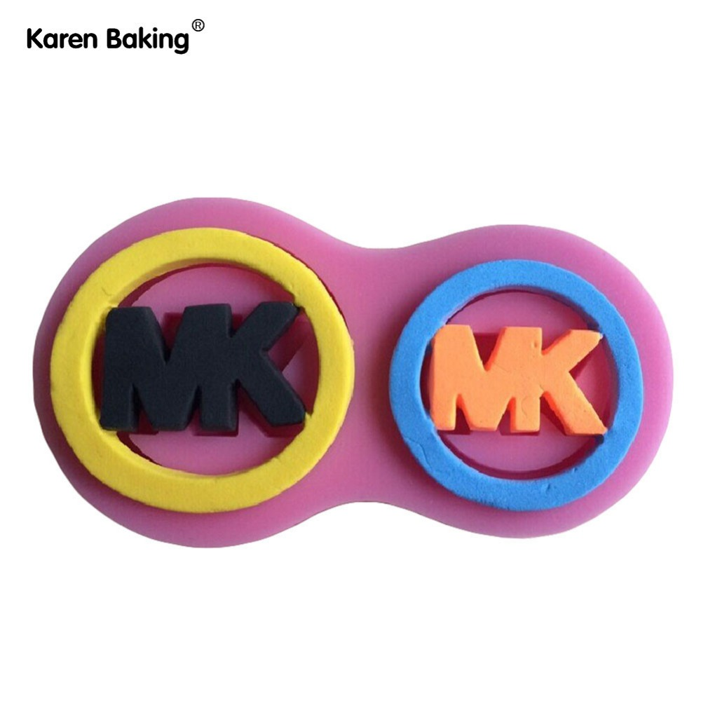 The Famous Logo Collection Fondant Cake Molds Tools Soap Chocolate Mould Bakeware -C368(China (Mainland))