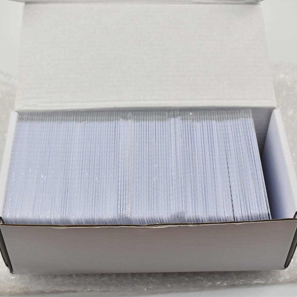 200pcs/lot ATMEL T5577/T5557 blank Thin pvc proximity Card rewritable RFID 125KHz(China (Mainland))