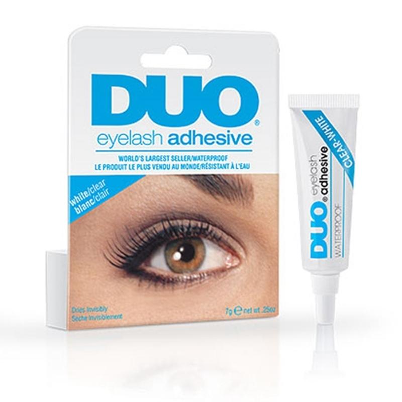 Hot Selling 1Pcs Eye Lash Glue Clear White Makeup Adhesive Waterproof False Eyelashes Lady(China (Mainland))