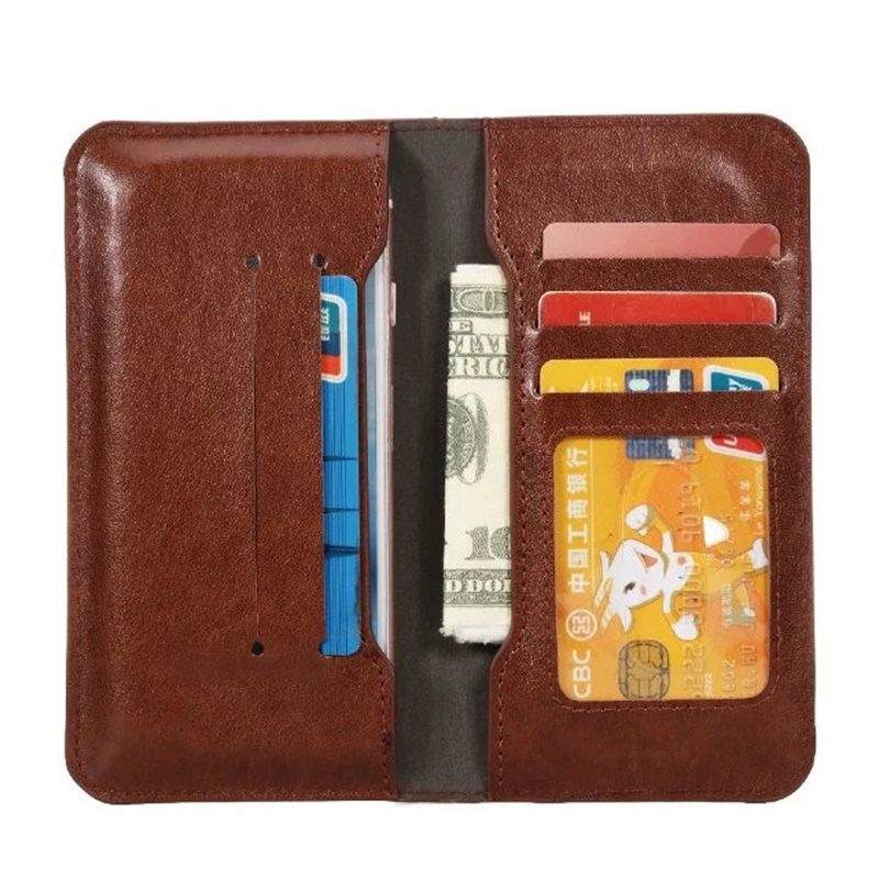 PU Leather Universal Wallet Case For newman n3 Card Slots Universal 4.8-5.8 Inch Pouch cases cover(China (Mainland))