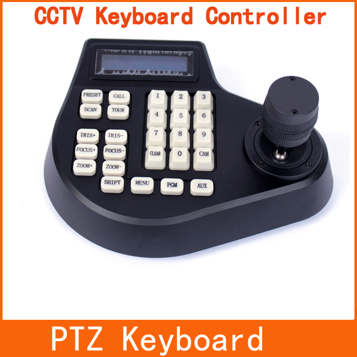 3 Axis Dimension Joystick CCTV Keyboard Controller For PTZ Speed Dome Camera(China (Mainland))