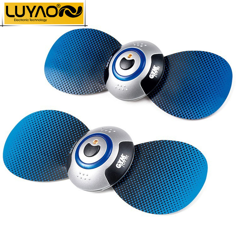 LUYAO Electric pulse body slimming massager.Wireless remote control neck magnetic tens acupuncture therapy.Women sex massager(China (Mainland))
