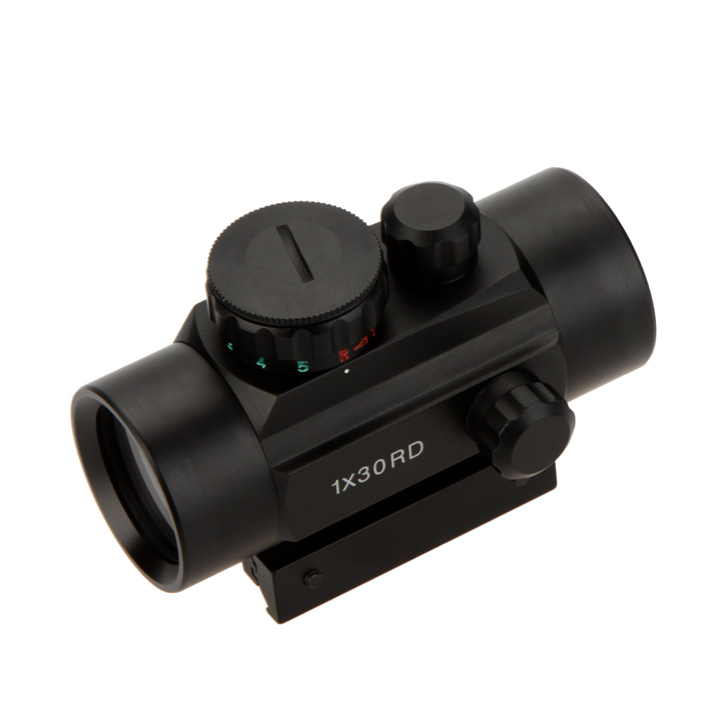 1 X 30 holographic Tactical Red Green Dot Sight Scope telescopic sight for shotgun hunting rifle