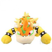 Super Mario Plush Toys 25CM Koopa Bowser Japanese Anime Action Figure Plush Doll Brothers Soft Plush Brinquedos For Kids Gift