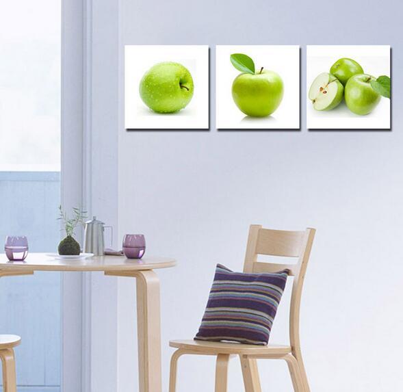 Popular green apple kitchen decor buy cheap green apple kitchen decor lots from china green - Apple kitchen decor cheap ...