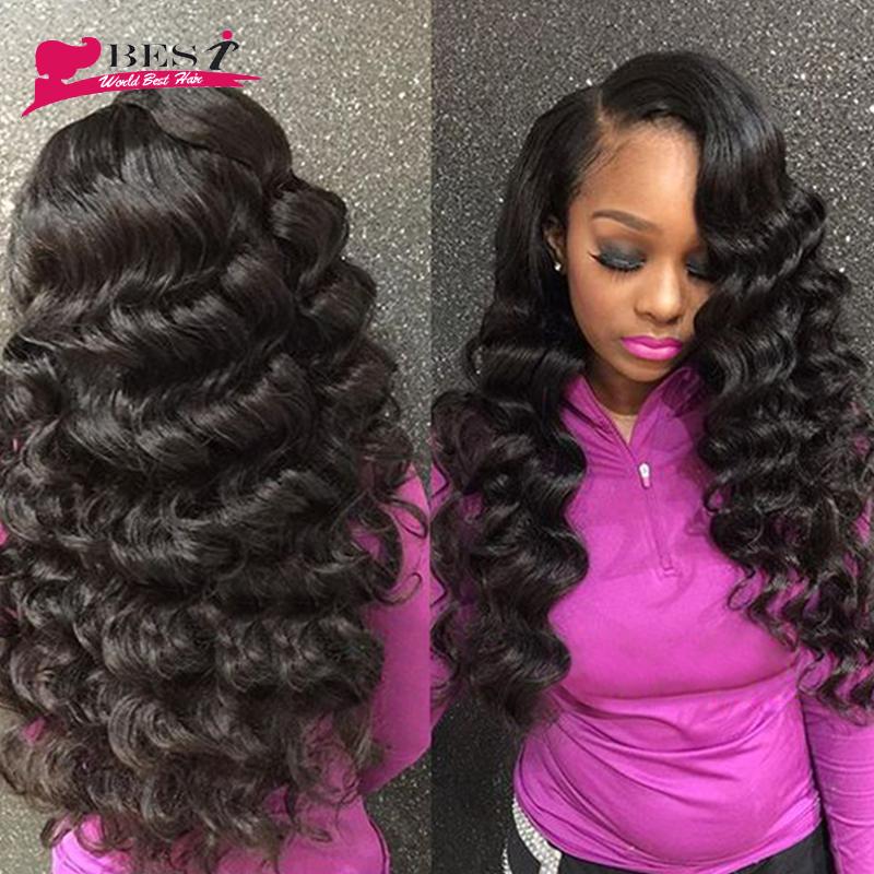Brazilian Virgin Hair 4 Bundles Loose Wave Brazilian Hair