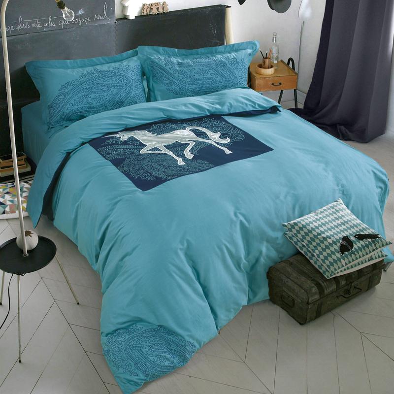 achetez en gros licorne couette en ligne des grossistes licorne couette chinois aliexpress. Black Bedroom Furniture Sets. Home Design Ideas