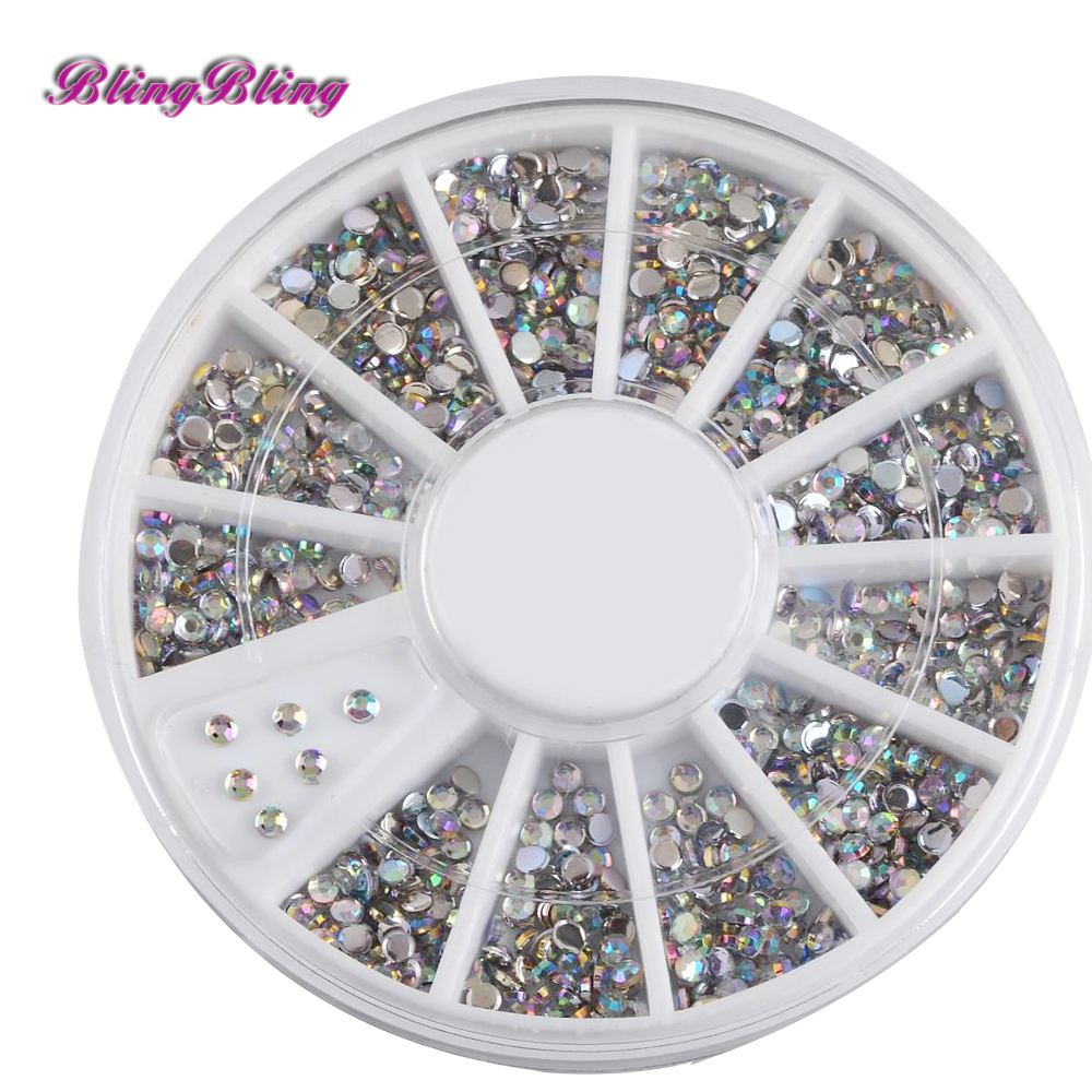 Ab color diy nail decorations acrylic glitter rhinestones for Acrylic nail decoration supplies
