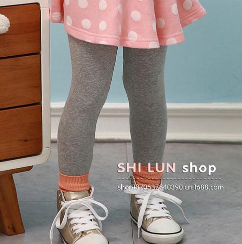 100% Cotton Girl Leggings Fashion Autumn/Winter Ki...