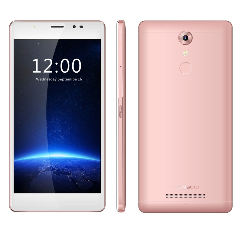 Original Leagoo T1 Plus 4G LTE Cell Phone 3GB RAM 16GB ROM MT6737 Quad Core 5.5 Inch Camera 13.0MP Android 6.0 Smartphone