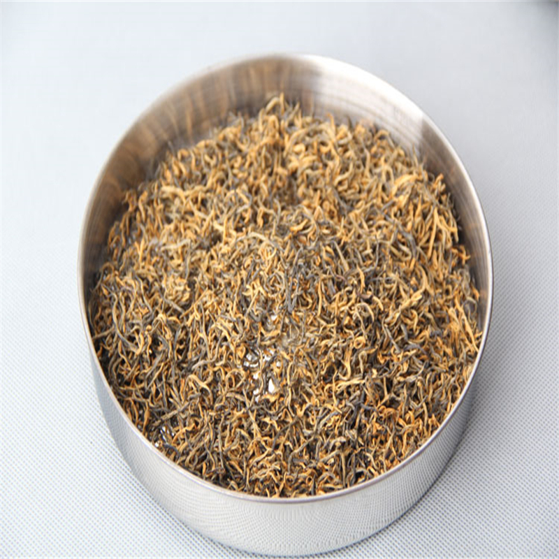 Premium Yunnan Gold Black Tea 100g Lower High Bood Pressure China Fragrance Black Tea Suppressed The