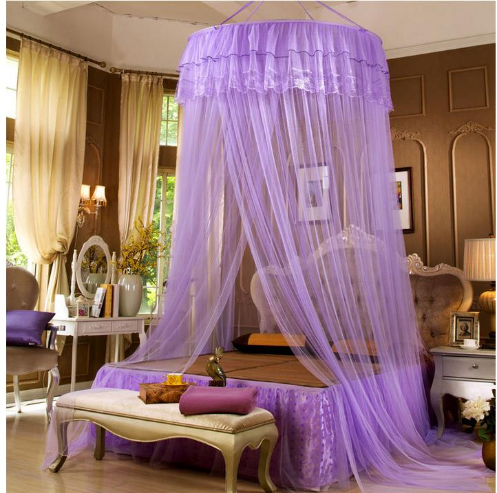 luxury mosquito net for double bed, Princess lace Palace bed curtain, canopy bed curtains,mosquiteiro,Adult Children Bed Netting(China (Mainland))