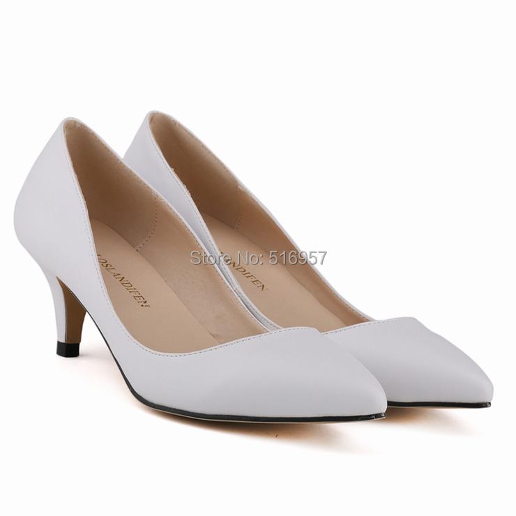 low white heels qu heel