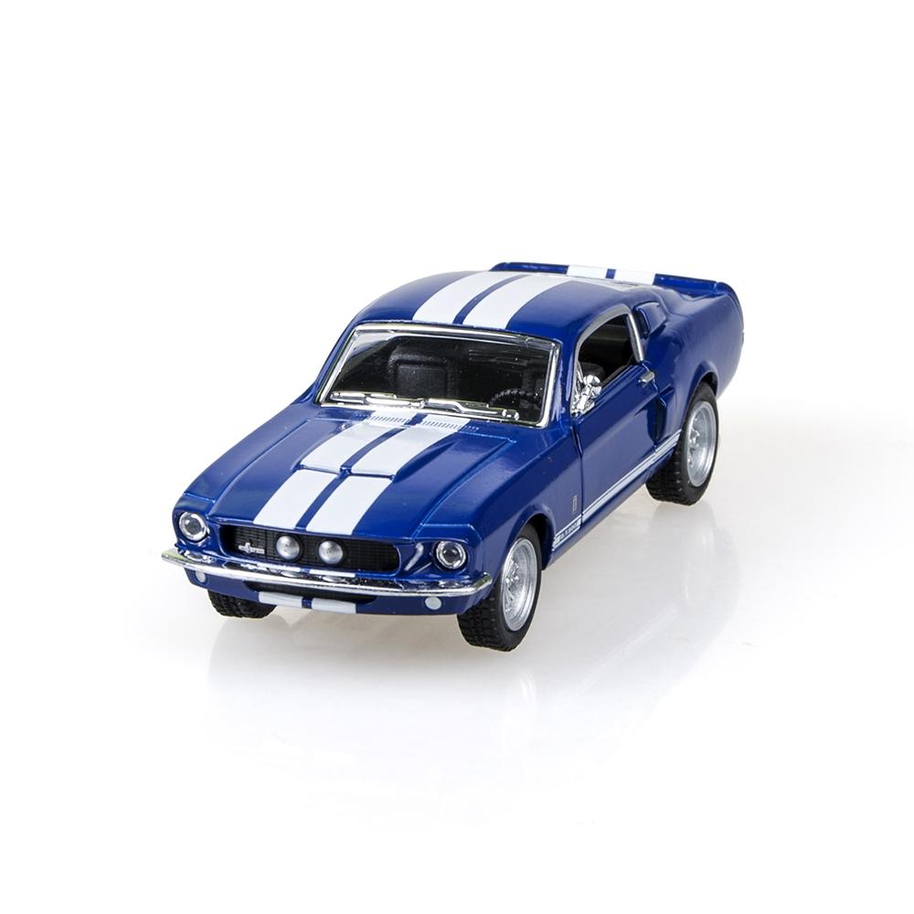 Kinsmart Mustang Shelby GT500 1967 Blue 1/32 alloy models model car back pull back car children's toys car Kids toy(China (Mainland))