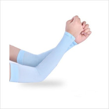 1 pair New Arrival Men Women Cycling Arm Warmers Sleevelet Cover Outdoor Bicycle Sun Protection Arm Sleeve 6 Color(China)