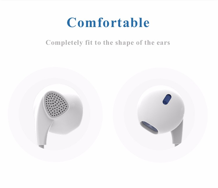 PTM IM500 Enhanced Bass Earphones Two-channel Headphone Shocking Sound Quality Headset Stereo Earpods for mobile phone iphone
