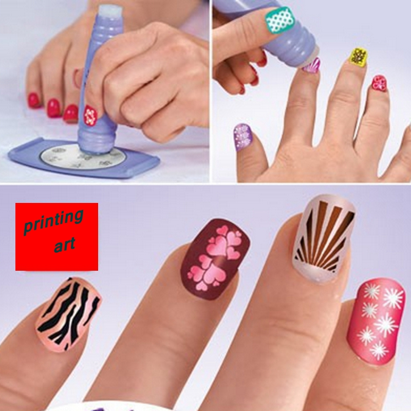 2015 New Hot sale Manicure sets printing nail art device Plastic Nail Art Tools Hot Worldwide free shipping S525<br><br>Aliexpress