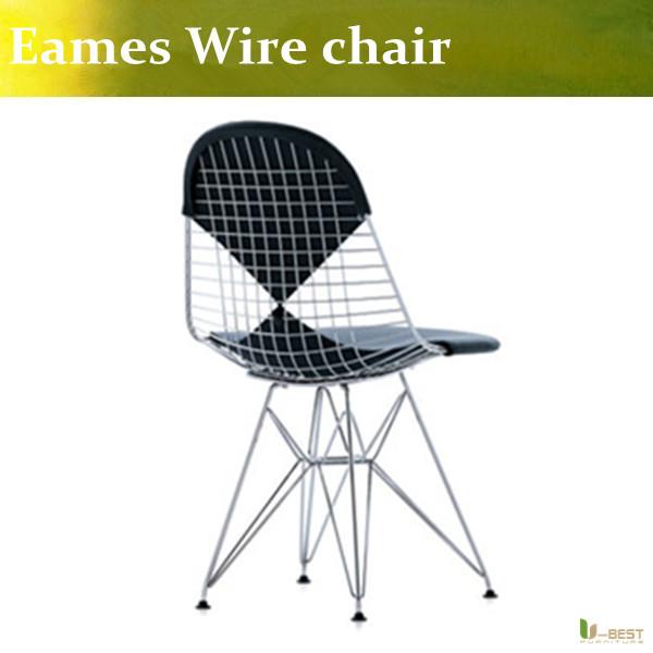 Eames wire chair cushion - Best High Quality Wire Eiffel Chair Bertoia Bertoia Wire Side Chair