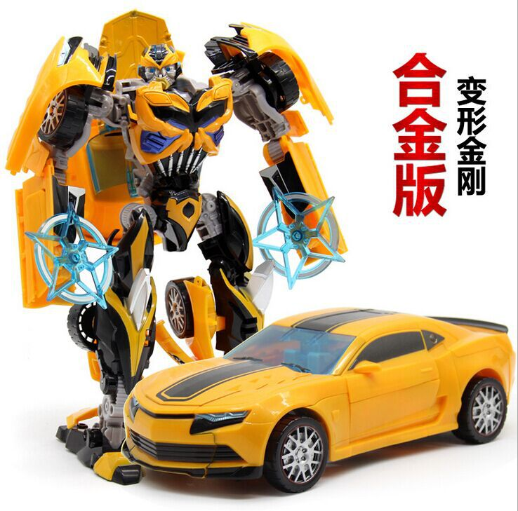 autobots Bumblebee deformation toys king kong 4 alloy robot model boy toys for children<br><br>Aliexpress