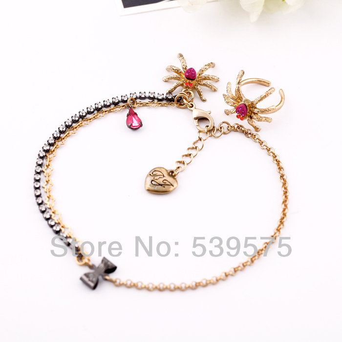 New Fashion Trendy Spider Sexy Anklets(China (Mainland))