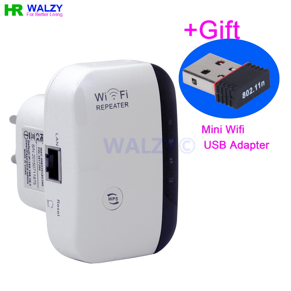 2016 New Wireless N Wifi Repeater 802.11N/B/G Network Wifi Router Range Expander 300Mbps 2dBi Antennas Signal Boosters With Gift(China (Mainland))