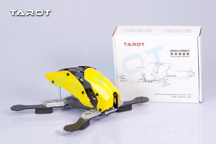 The newest DIY mini drone cross race quadcopter Tarot TL250H/TL280H frame better than robocat 270 pure carbon fiber