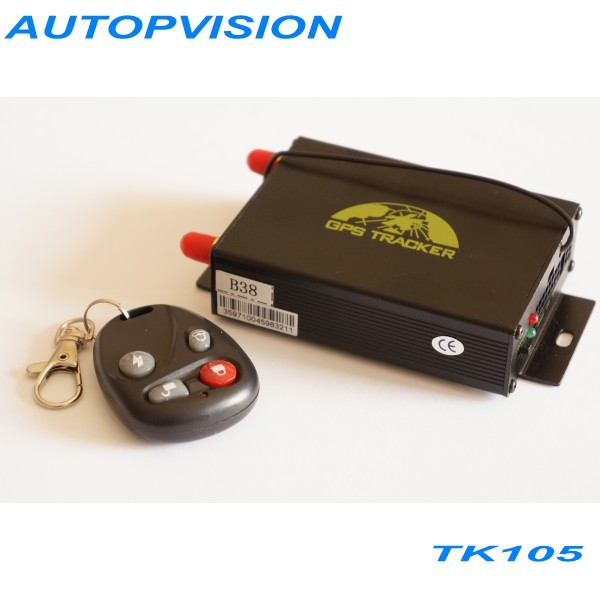 Vehicle satellite positioning system tk105 car/bus gps tracker camera automatically fuel alarm GSM / GPRS/ GPS(China (Mainland))