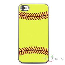 Sports Fashionl Baseball Protector back skins mobile cellphone cases for iphone 4/4s 5/5s 5c SE 6/6s plus ipod touch 4/5/6