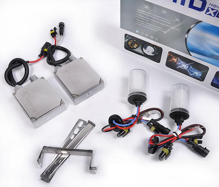 12V 55W HID Xenon Conversion Ballast Kit Bulbs H7 6000K Built-in decoder [AC322]<br><br>Aliexpress